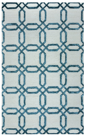 Rizzy Eden Harbor EH8811 Blue Area Rug
