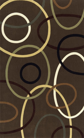 Momeni Elements EL-09 Brown Area Rug main image