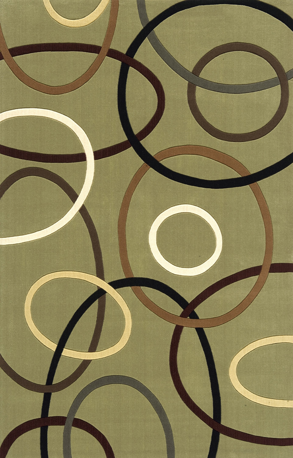 Momeni Elements EL-09 Sage Area Rug