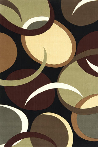 Momeni Elements EL-13 Black Area Rug main image