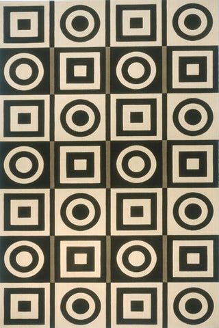 Momeni Elements EL-19 Black Area Rug main image