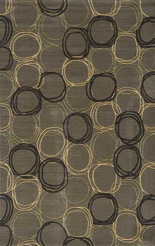 Momeni Elements EL-34 Grey Area Rug main image