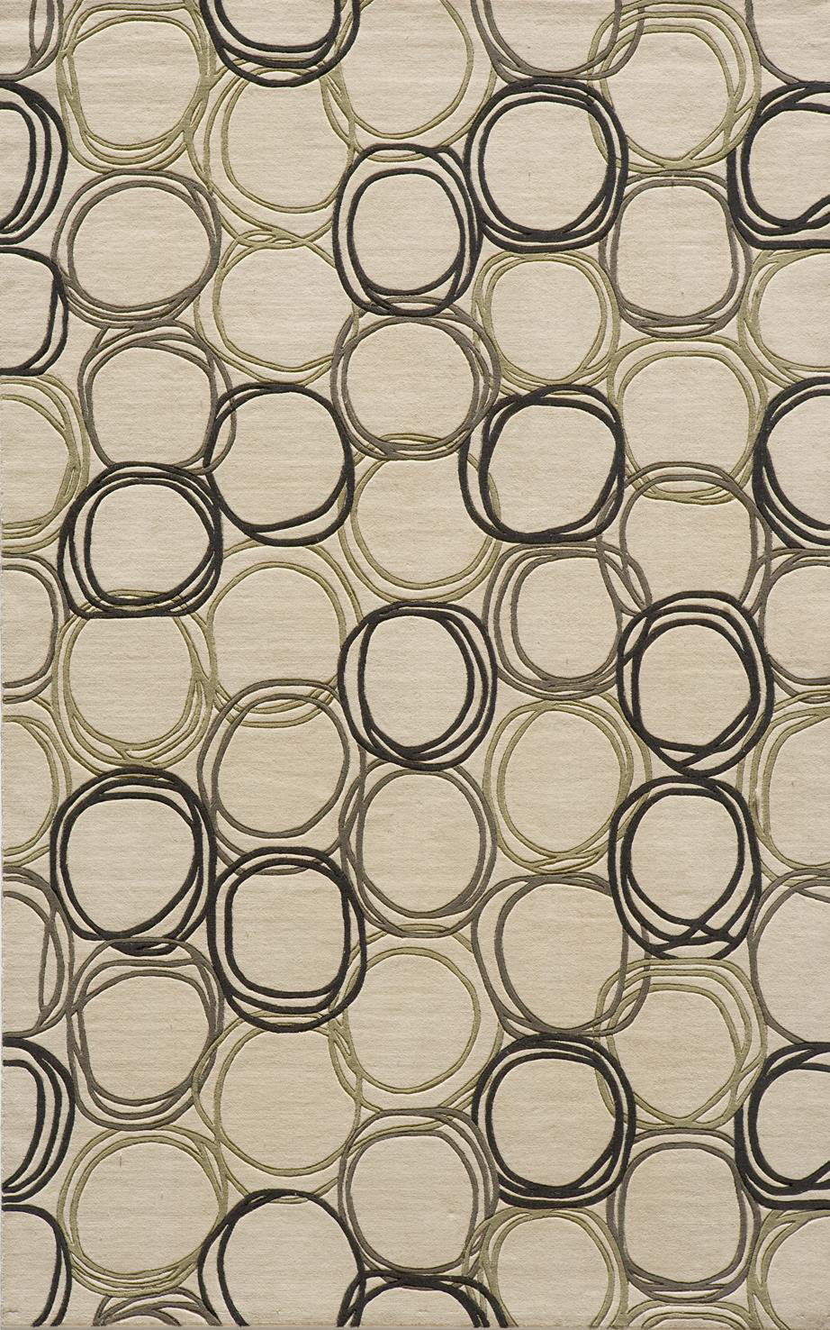 Momeni Elements EL-34 Ivory Area Rug main image