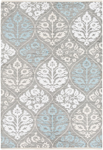 Artistic Weavers Elaine Luke Light Gray/Light Blue Area Rug main image