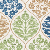 Artistic Weavers Elaine Luke Turquoise/Lime Green Multi Area Rug Swatch