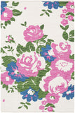 Artistic Weavers Elaine Carter Carnation Pink/Royal Blue Multi Area Rug main image