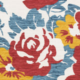 Artistic Weavers Elaine Carter Poppy Red/Teal Multi Area Rug Swatch
