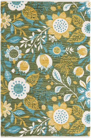 Artistic Weavers Elaine Levi Gold/Teal Multi Area Rug main image