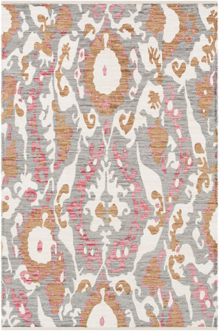 Artistic Weavers Elaine Hudson Light Gray/Burnt Orange Multi Area Rug main image