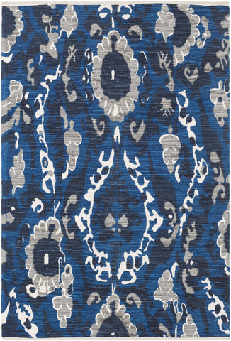 Artistic Weavers Elaine Hudson Royal Blue/Navy Blue Multi Area Rug main image