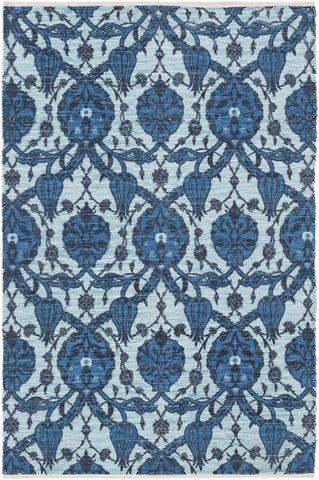 Artistic Weavers Elaine Landon Turquoise/Navy Blue Multi Area Rug main image