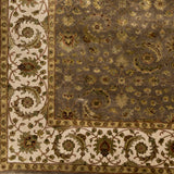 Surya Elizabeth ELZ-8000 Light Gray Hand Knotted Area Rug Sample Swatch