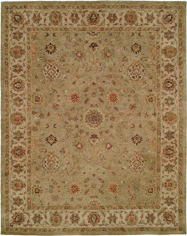 Kalaty Empire EM-287 Green/Ivory Area Rug main image