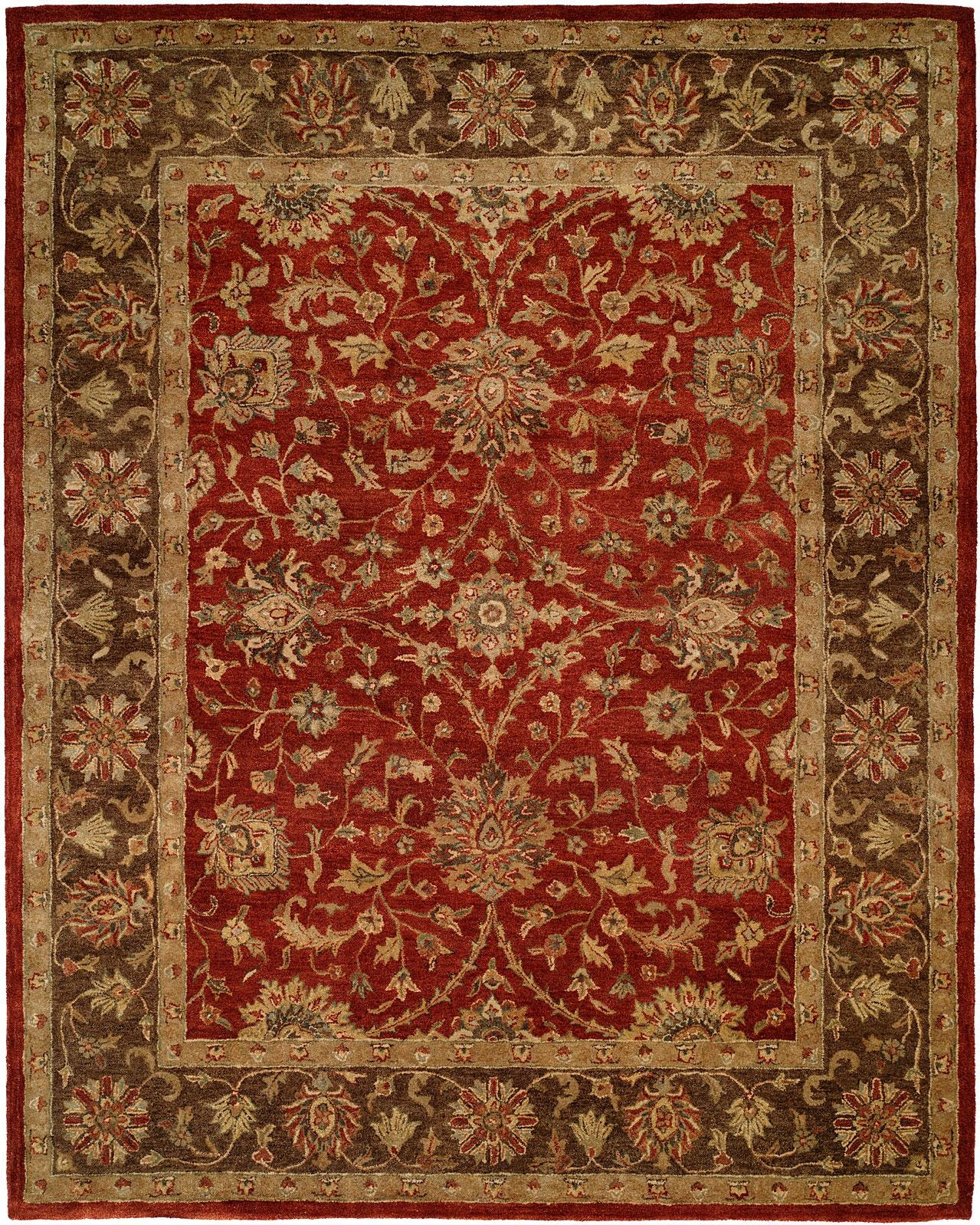 Kalaty Empire EM-289 Rust/Brown Area Rug main image