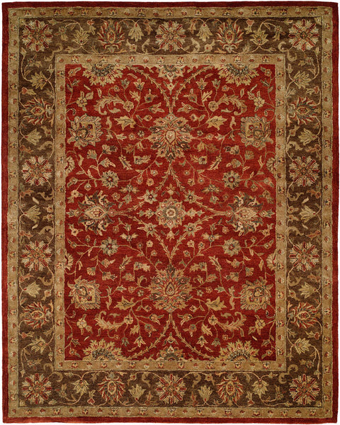 Kalaty Empire Em 289 Rust Brown Area Rug Incredible Rugs And Decor