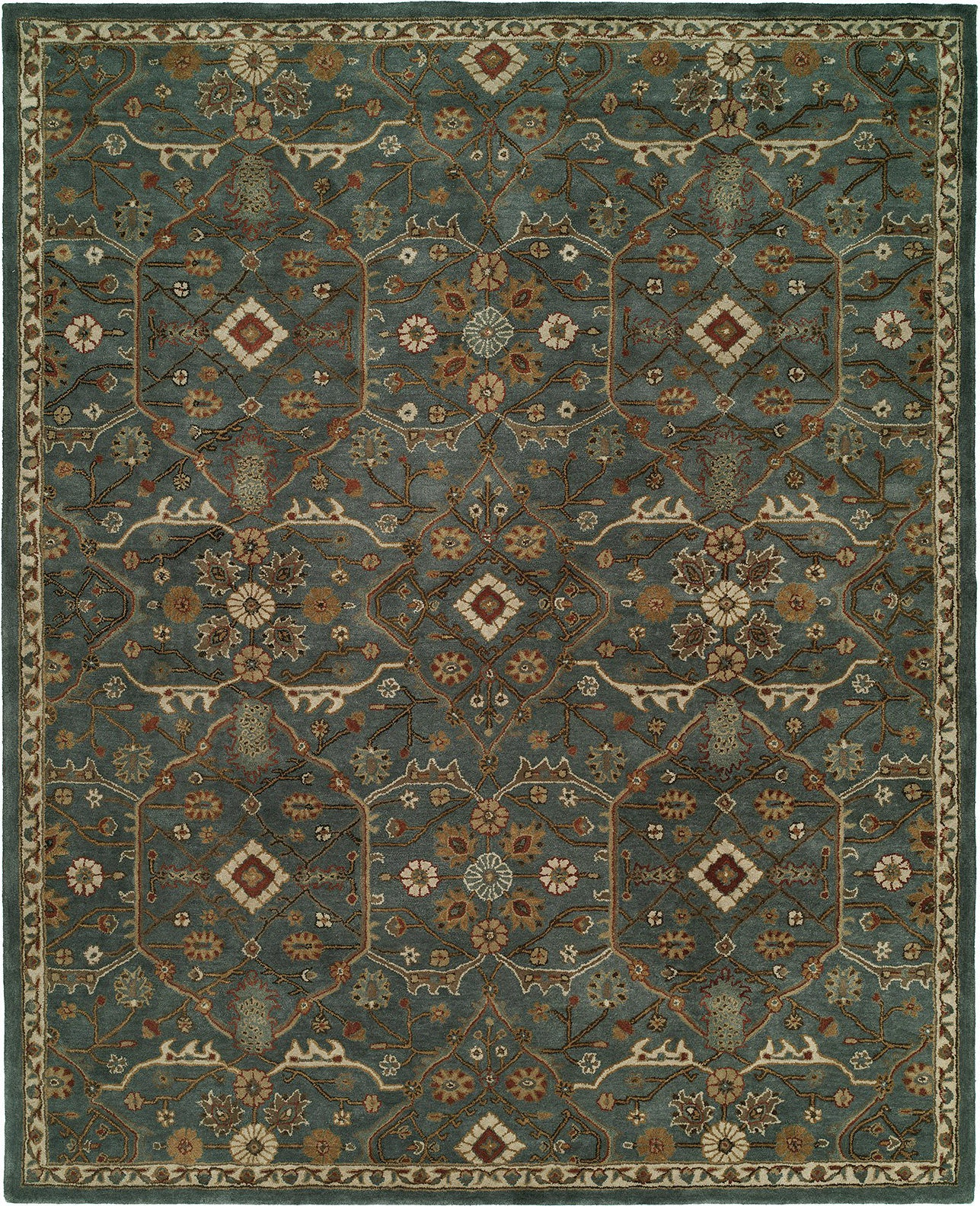 Kalaty Empire EM-297 Slate Blue Area Rug main image