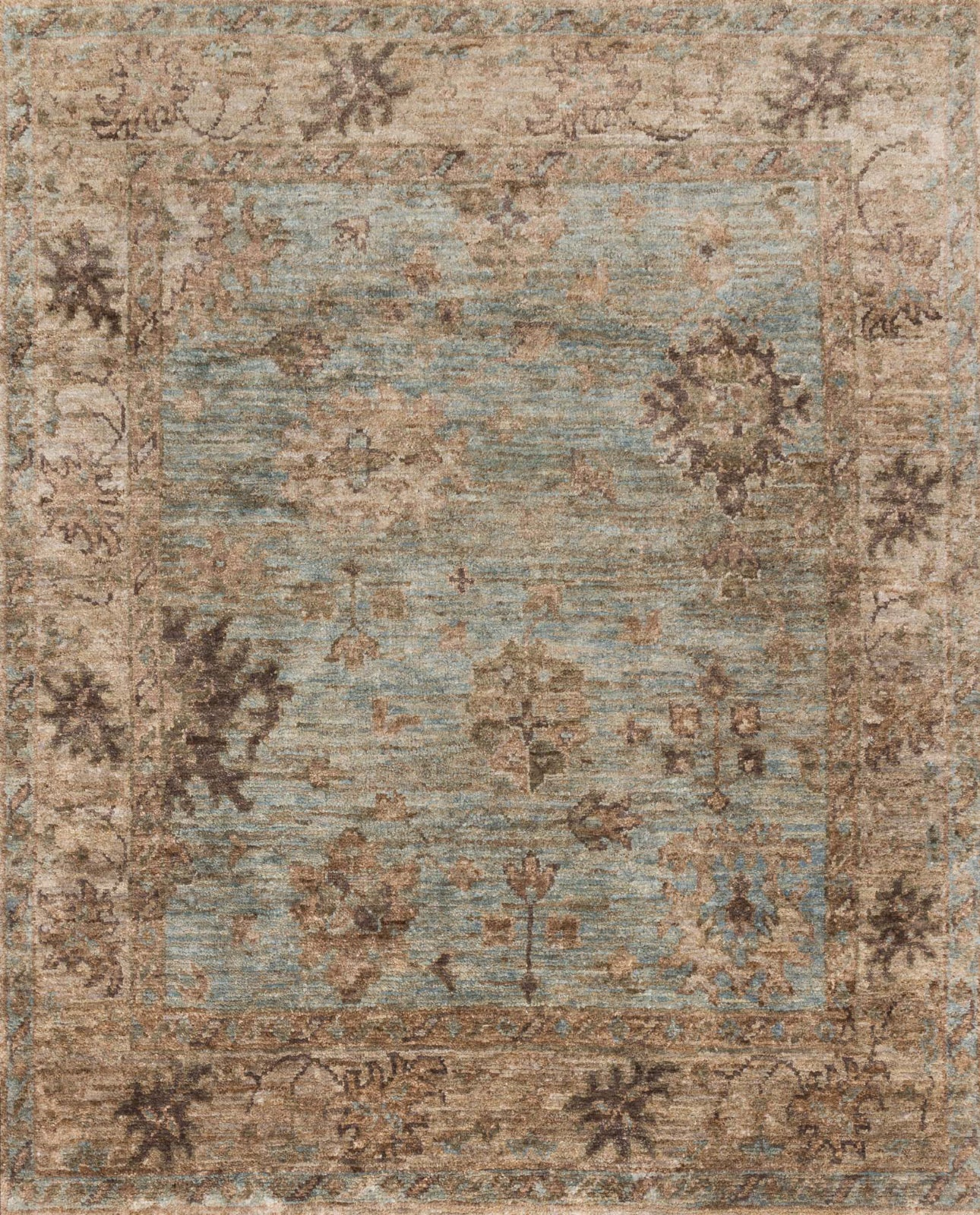 Loloi Empress EU-06 Light Blue / Natural Area Rug main image