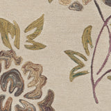 Surya Enchanted ENC-4000 Beige Hand Tufted Area Rug Sample Swatch