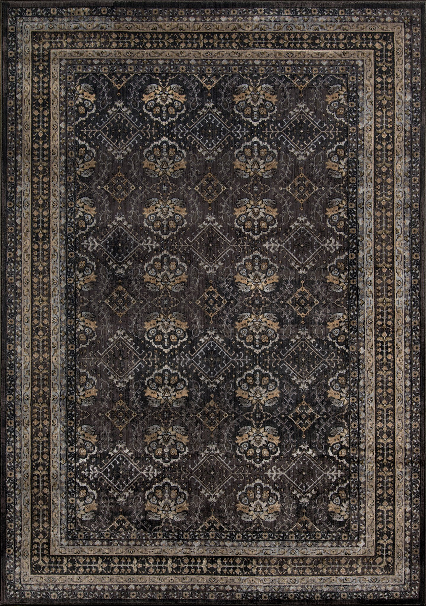 Momeni Encore EC-01 Charcoal Area Rug main image