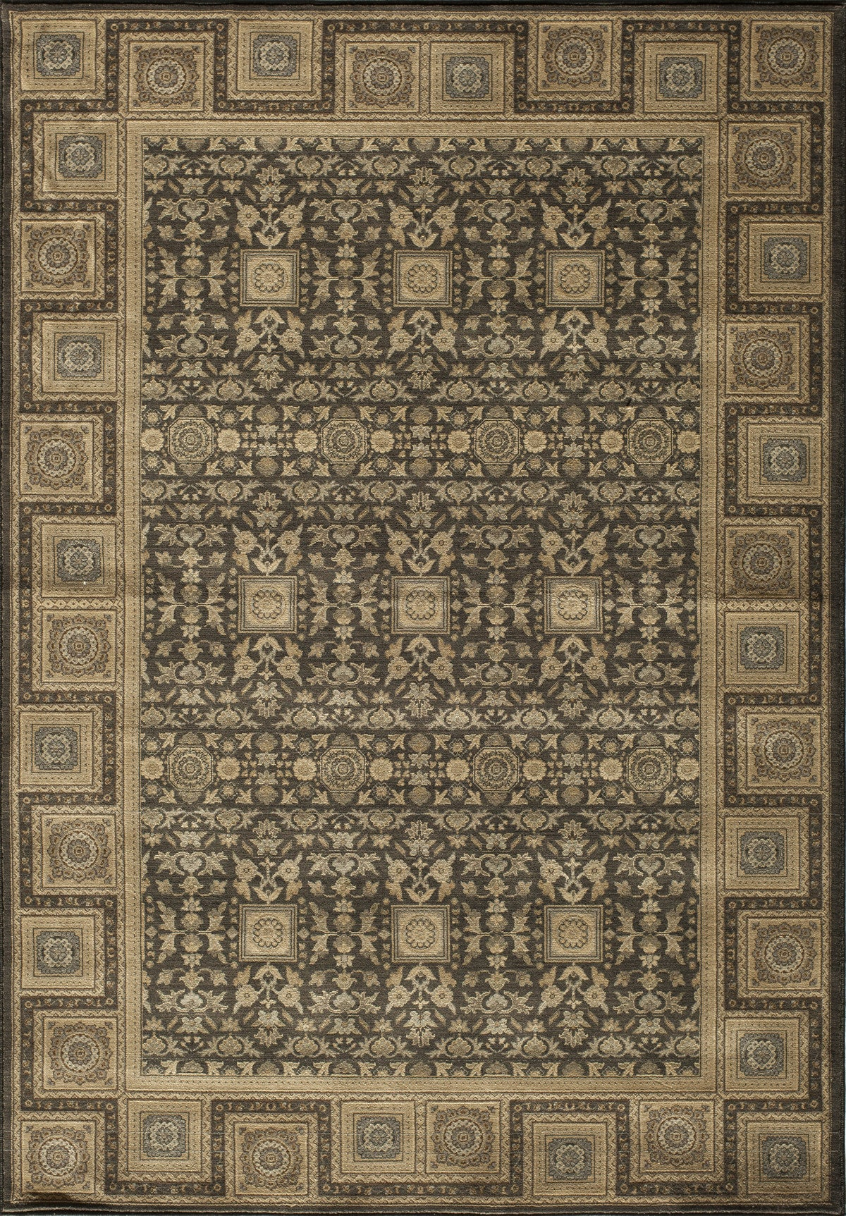 Momeni Encore EC-06 Charcoal Area Rug main image