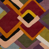 Surya Envelopes ENV-5000 Eggplant Hand Tufted Area Rug by Mike Farrell Sample Swatch