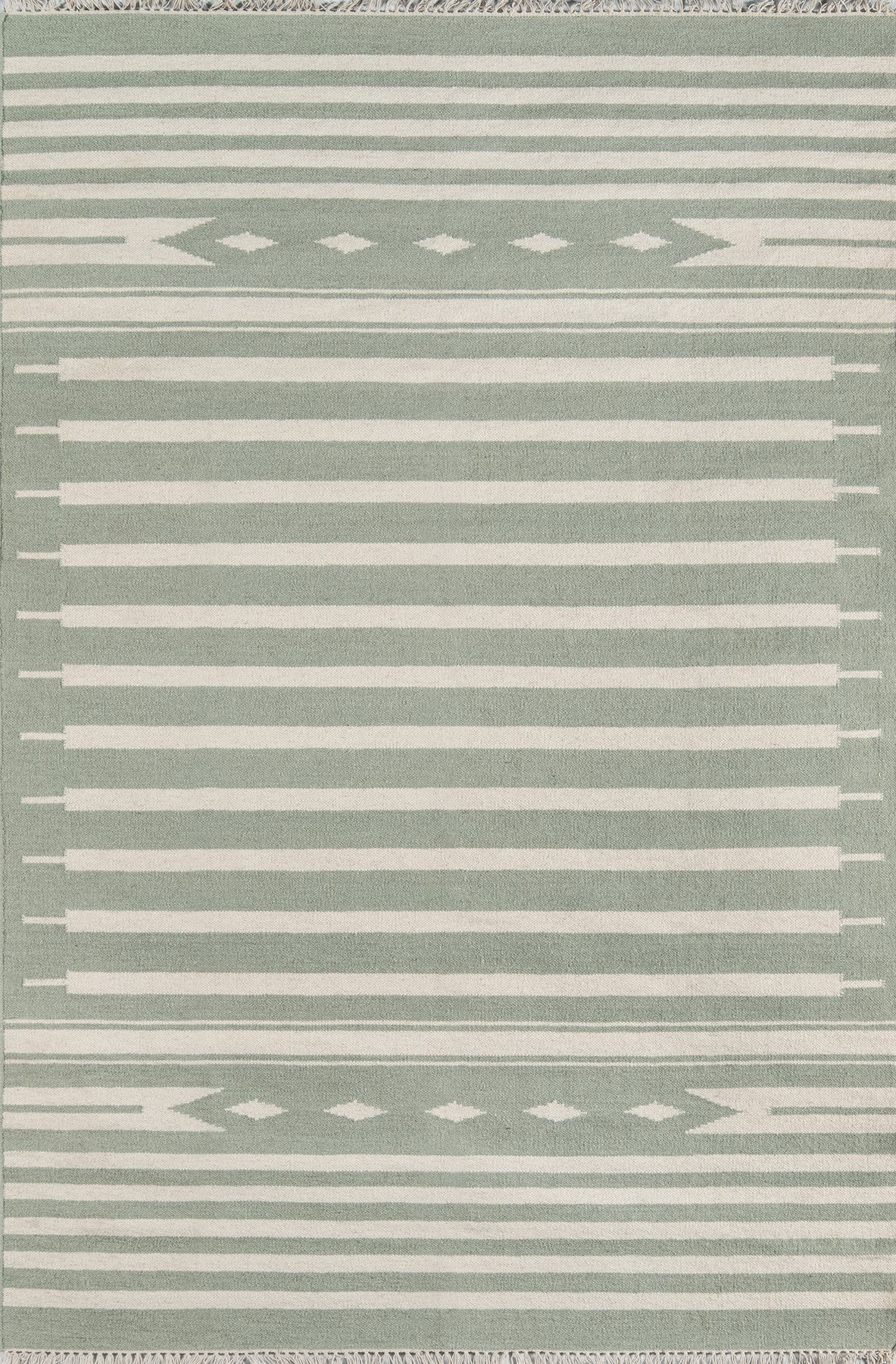Momeni Thompson Billings Light Green Area Rug by Erin Gates main image