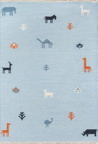 Momeni Thompson Porter Blue Area Rug by Erin Gates main image
