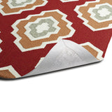 Kaleen Escape ESC02-25 Red Hand Tufted Area Rug