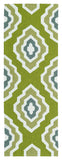 Kaleen Escape ESC02-50 Green Area Rug Runner Shot