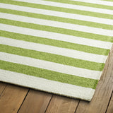 Kaleen Escape ESC03-50 Green Area Rug Close-up Shot Feature