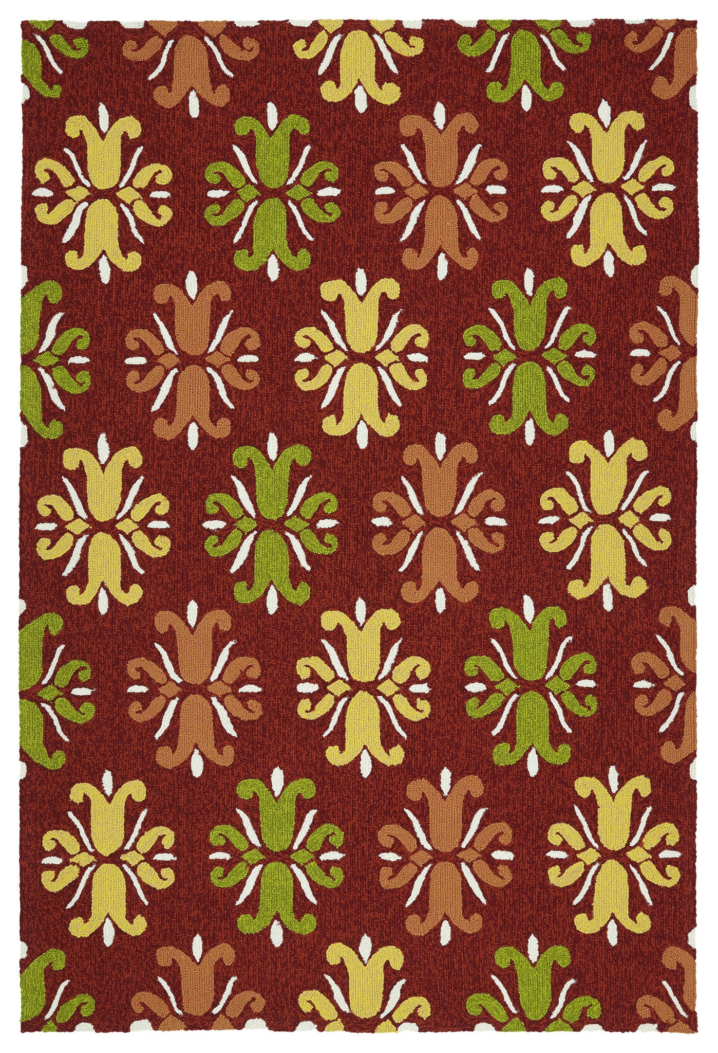 Kaleen Escape ESC07-25 Red Area Rug