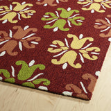 Kaleen Escape ESC07-25 Red Hand Tufted Area Rug