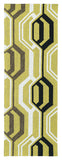 Kaleen Escape ESC08-05 Gold Hand Tufted Area Rug