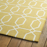 Kaleen Escape ESC10-05 Gold Area Rug Close-up Shot