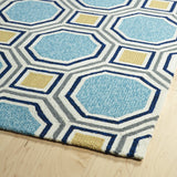 Kaleen Escape ESC11-17 Blue Hand Tufted Area Rug