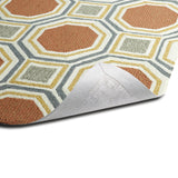 Kaleen Escape ESC11-31 Pumpkin Hand Tufted Area Rug