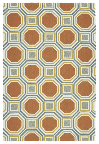 Kaleen Escape ESC11-31 Pumpkin Area Rug