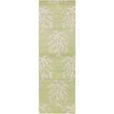 Surya Escape ESP-3007 Lime Area Rug by Somerset Bay 2'6'' x 8' Runner