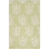 Surya Escape ESP-3007 Lime Area Rug by Somerset Bay 5' x 8'