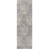 Surya Escape ESP-3014 Light Gray Area Rug by Somerset Bay 2'6'' x 8' Runner