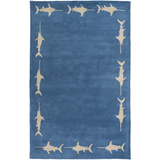 Surya Escape ESP-3118 Cobalt Area Rug by Somerset Bay