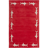 Surya Escape ESP-3119 Cherry Area Rug by Somerset Bay 5' x 8'