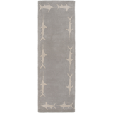 Surya Escape ESP-3120 Light Gray Area Rug by Somerset Bay 2'6'' x 8' Runner