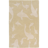 Surya Escape ESP-3125 Light Gray Area Rug by Somerset Bay 5' x 8'