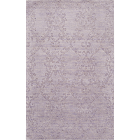 Surya Etching ETC-4916 Light Gray Area Rug main image
