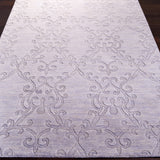 Surya Etching ETC-4916 Light Gray Hand Loomed Area Rug