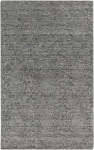 Surya Etching ETC-4923 Grey Area Rug main image