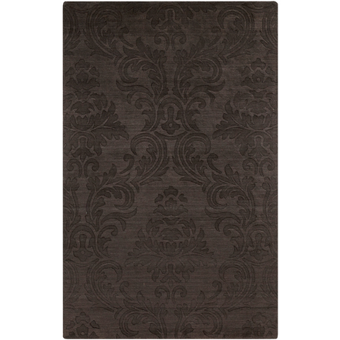 Surya Etching ETC-4925 Chocolate Area Rug main image