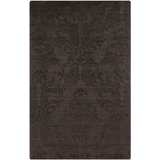 Surya Etching ETC-4925 Chocolate Area Rug 5' x 8'