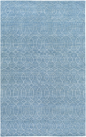 Surya Etching ETC-4984 Sky Blue Area Rug main image